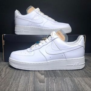 Nike Air Force 1 Low 07 LX Bling WMNS White AF1